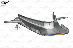 Splitter / T-tray de la BAR 003