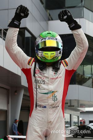Race winner Jordan Love