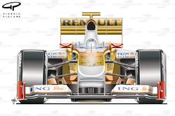 Vue de devant de la Renault R29