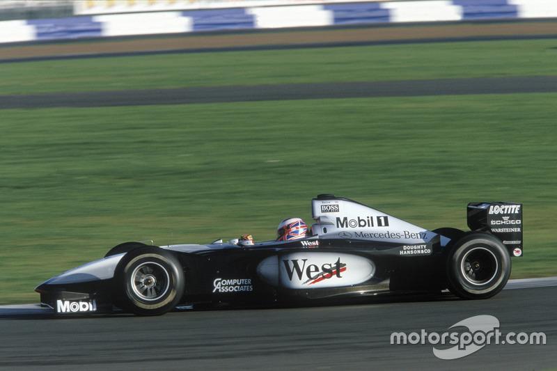 Der 1. Formel-1-Test