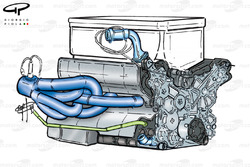 Stewart SF3 1999 Ford engine