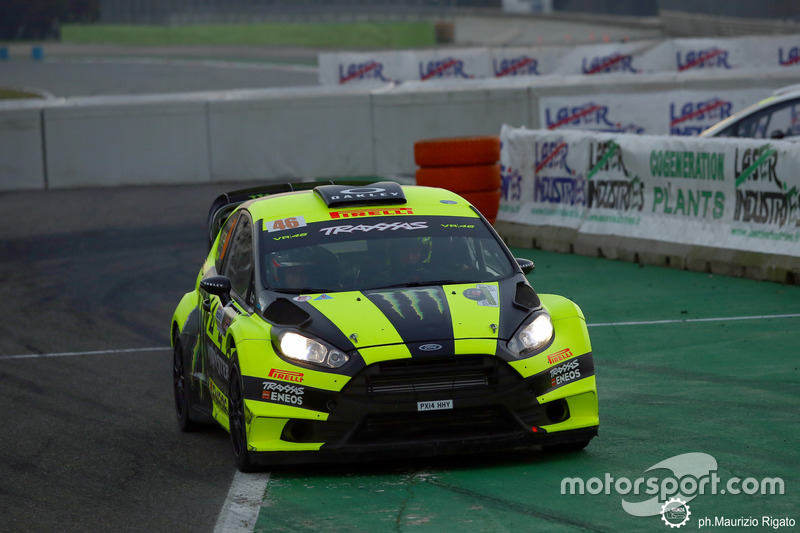 Valentino Rossi, Carlo Cassia, Ford Fiesta