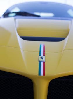 Details d'une Ferrari