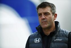 Менеджер команды McLaren Пол Джеймс