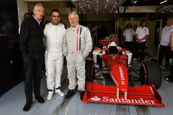 Tony Gardine, Zsolt Baumgartner, Kevin Eason, F1-Doppelsitzer