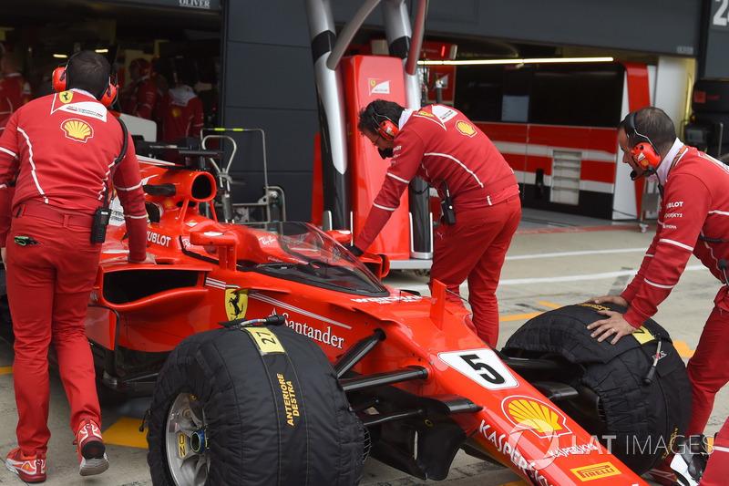 Ferrari SF70H, з системою Щит