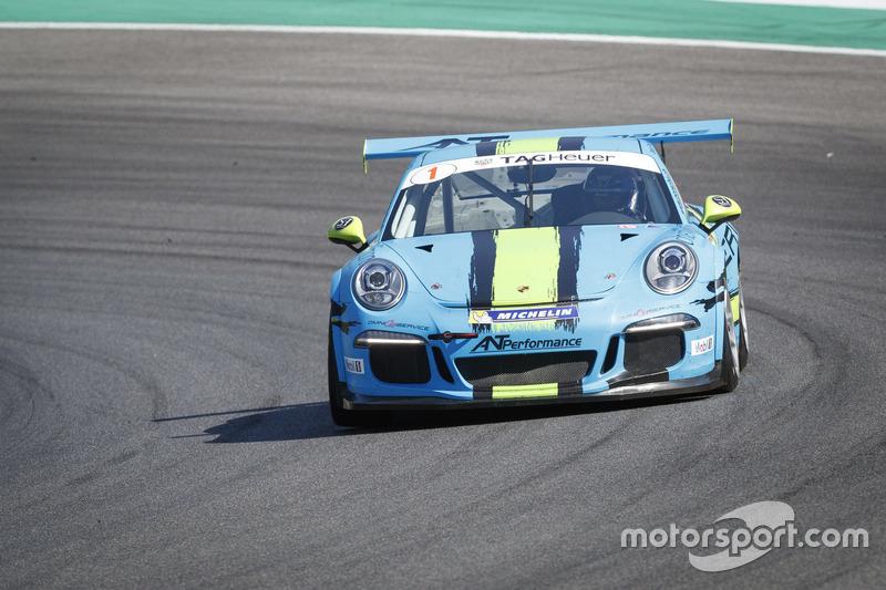 Jean-Paul von Burg, Porsche 911 GT 3 Cup