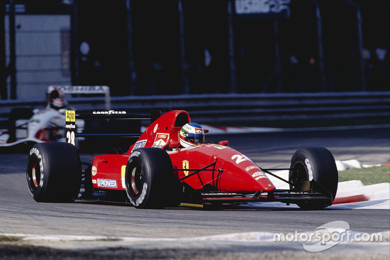 Ivan Capelli, Ferrari F92AT