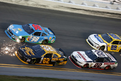 Brendan Gaughan, Richard Childress Racing Chevrolet Aric Almirola, Ford