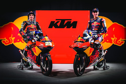 Niccolo Antonelli, Red Bull KTM Ajo and Bo Bendsneyder, Red Bull KTM Ajo