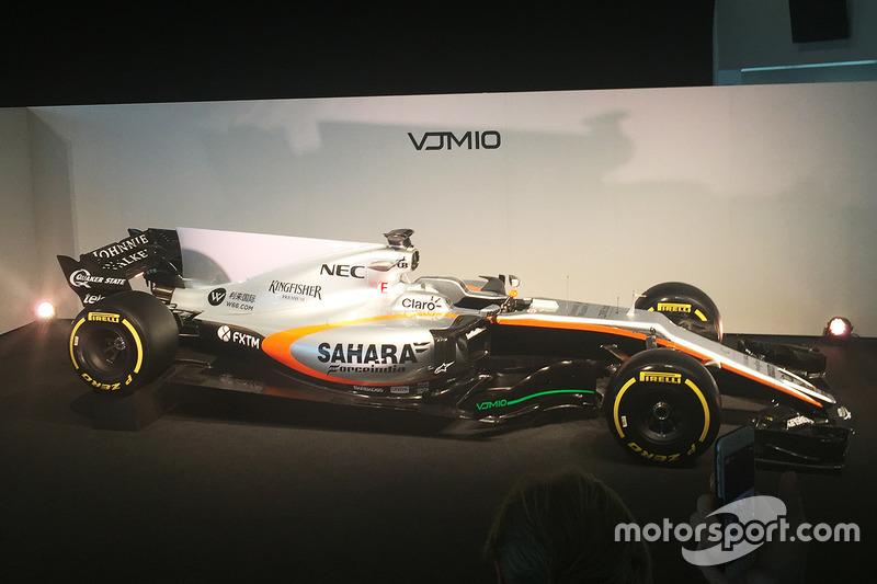 2017: Force India VJM10