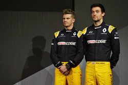 (L to R): Nico Hulkenberg, Renault Sport F1 Team with Jolyon Palmer, Renault Sport F1 Team