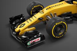 Renault RS17: Frontpartie