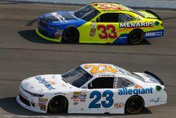 Spencer Gallagher, GMS Racing Chevrolet, Brandon Jones, Richard Childress Racing Chevrolet