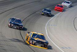 Brendan Gaughan, Richard Childress Racing Chevrolet and Mario Gosselin, King Autosport Chevrolet