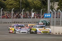 Gabriel Ponce de Leon, Ponce de Leon Competicion Ford, Julian Santero, Coiro Dole Racing Torino, Pedro Gentile, JP Carrera Chevrolet