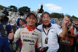 Race winner Yuhi Sekiguchi, Team Impul