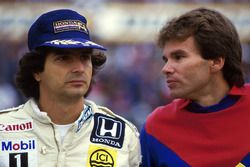 Nelson Piquet, Williams con Peter Windsor, Williams