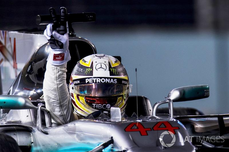 14. GP de Singapur 2017: Lewis Hamilton (1º)