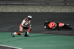 Saeed Al Sulaiti, QMMF Racing, crash