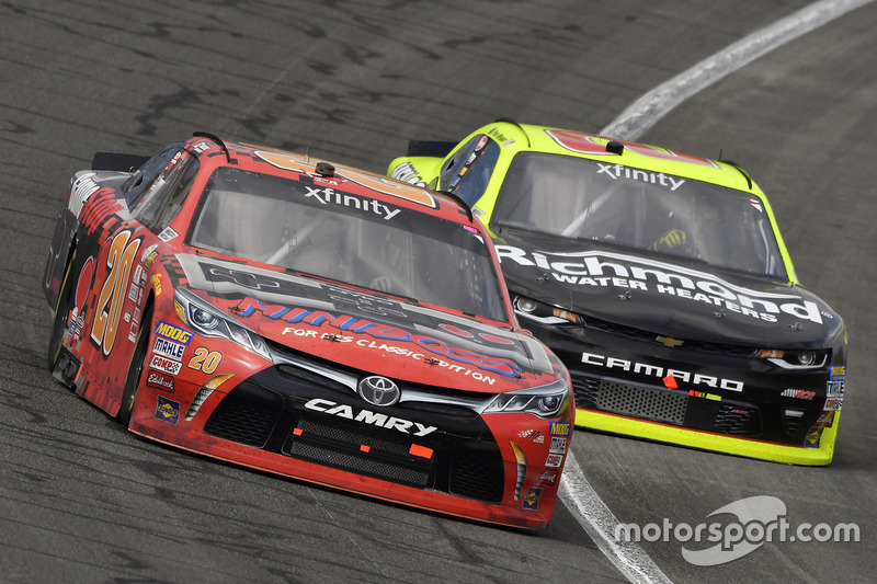 Erik Jones, Joe Gibbs Racing, Toyota; Paul Menard