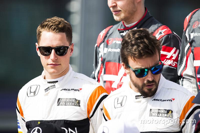 Stoffel Vandoorne, McLaren y Fernando Alonso, McLaren