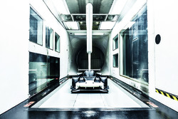 Ginetta P1 in the windtunnel
