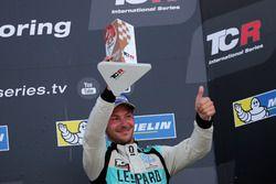 Podium: Jean-Karl Vernay, Leopard Racing Team WRT, Volkswagen Golf GTi TCR