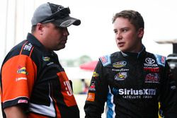 Christopher Bell, Kyle Busch Motorsports Toyota and crew chief Rudy Fugle