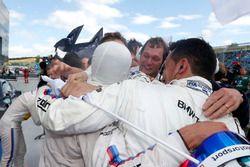 Bruno Spengler, BMW Team RBM, BMW M4 DTM in parc ferme