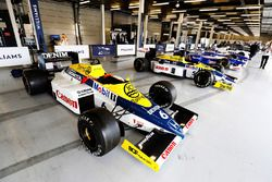 A Williams F10 Honda, FW11 Honda, classic F1 machinery