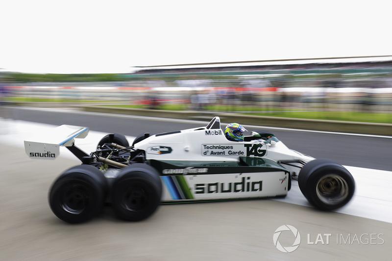 Felipe Massa, seis ruedas Williams FW08