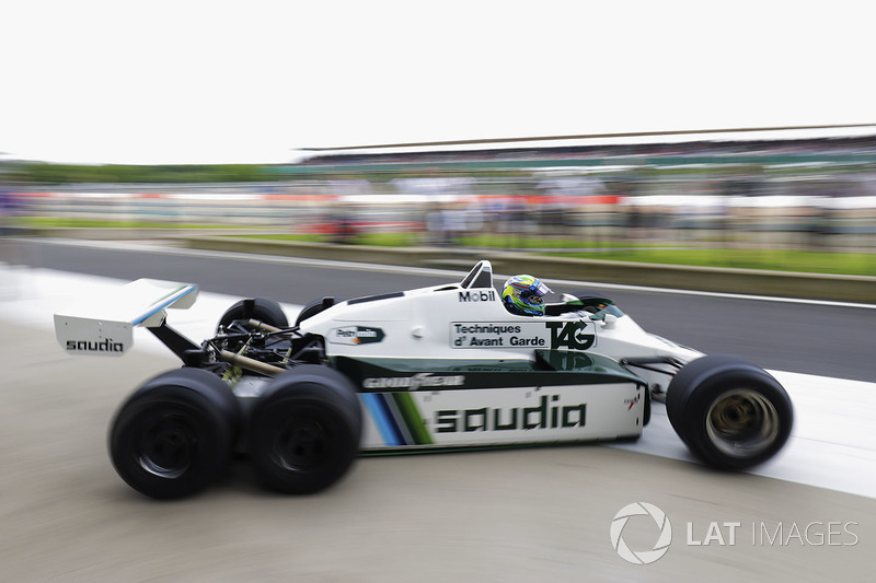 Felipe Massa, six-wheeled Williams FW08
