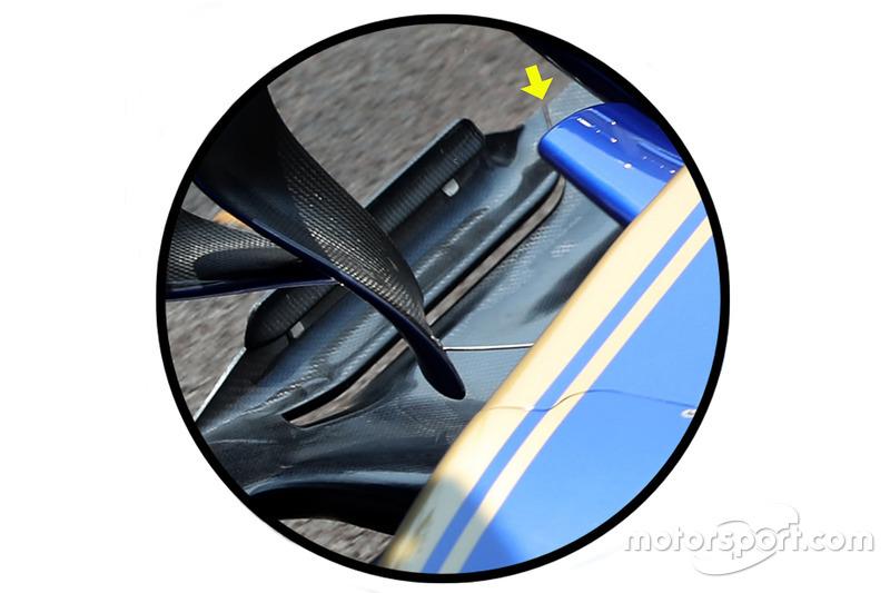 Проріз днища Sauber C36