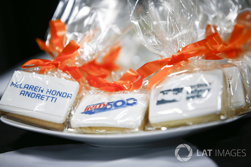 Мероприятие McLaren, посвященное гонке «Инди 500»