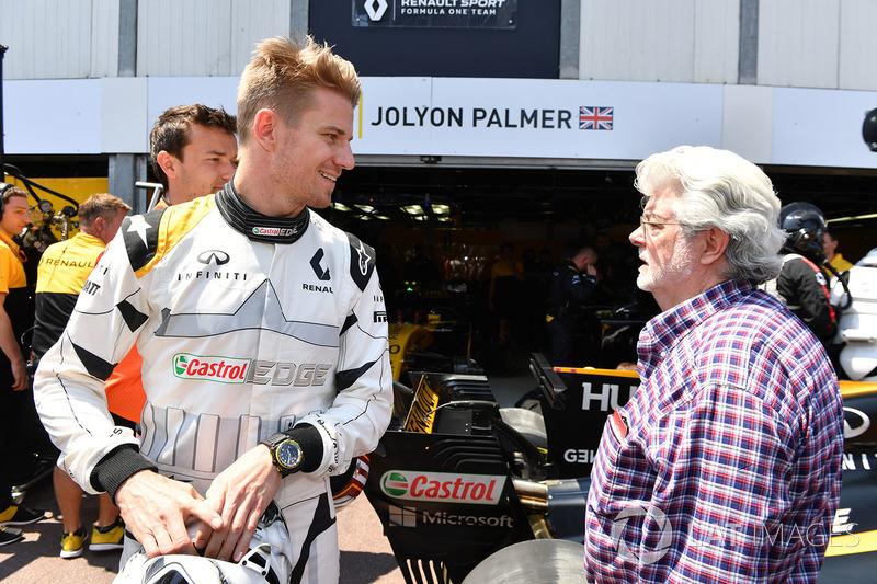 Nico Hulkenberg, Renault Sport F1 Team RS17 ve George Lucas
