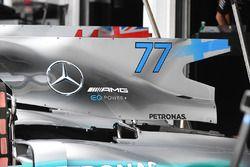 Mercedes-Benz F1 W08 Hybrid motorkap