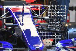 Sensor aerodinámico del Scuderia Toro Rosso STR12