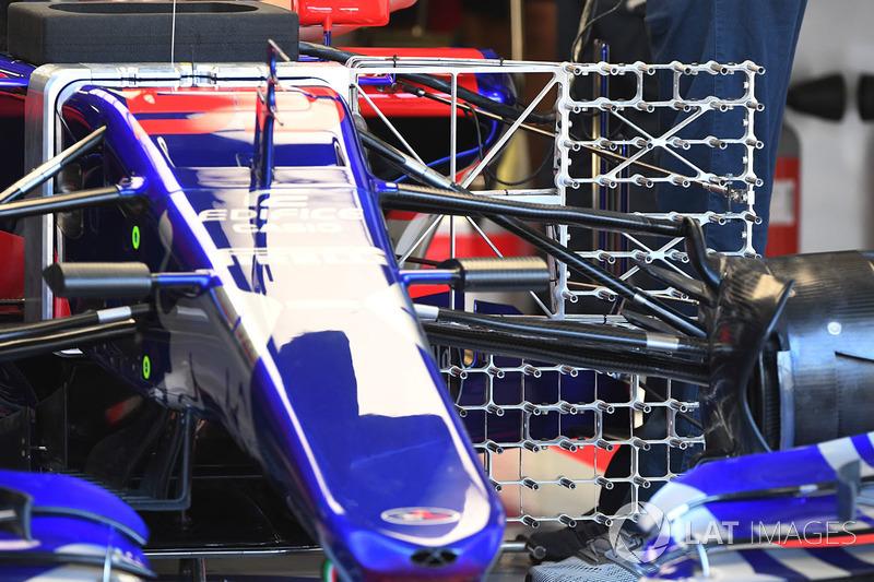 Випробувальне обладнанння Scuderia Toro Rosso STR12