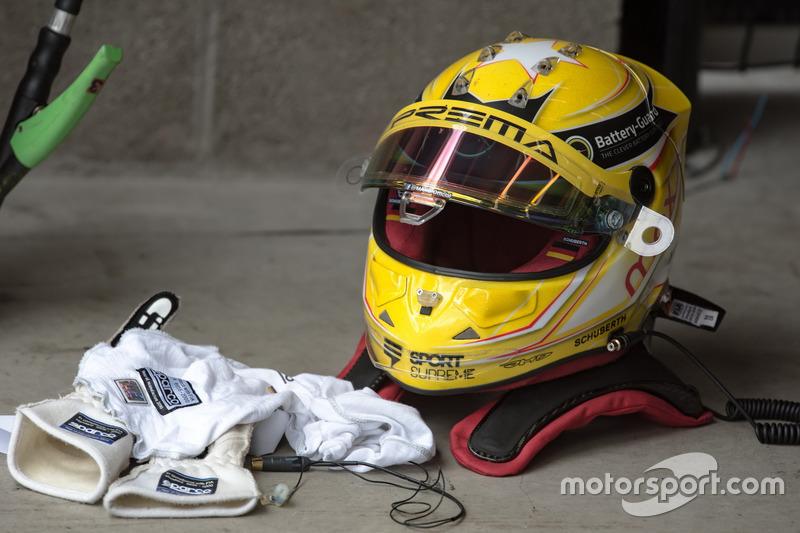 Kask, Maximilian Günther, Prema Powerteam Dallara F317 - Mercedes-Benz