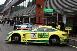 #48 Team HTP Motorsport Mercedes AMG GT3: Kenneth Heyer, Indy Dontje, Patrick Assenheimer