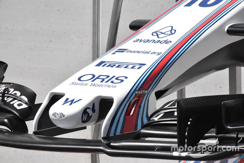 Nez de la Williams FW40