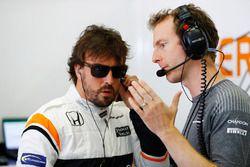 Fernando Alonso, McLaren, Mark Temple, ingegnere di pista, McLaren