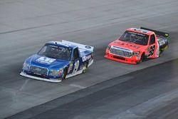 Austin Cindric, Brad Keselowski Racing, Ford; Grant Enfinger, ThorSport Racing, Toyota