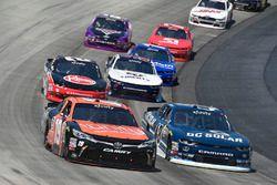 Matt Tifft, Joe Gibbs Racing, Toyota; Brennan Poole, Chip Ganassi Racing, Chevrolet
