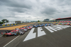 La photo de groupe des ORECA LMP2