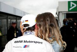 Timo Glock, BMW Team RMG, BMW M4 DTM with his wife Isabell