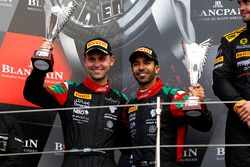 Podio Pro-AM: al secondo posto #97 Oman Racing Team with TF Sport, Aston Martin V12 GT3: Ahmad Al Ha