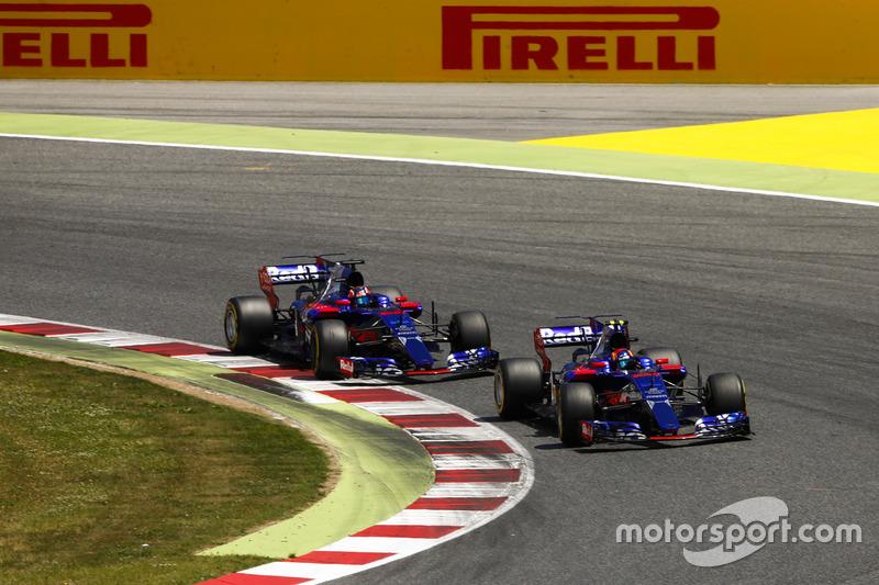 ...а также навязать сражение своему партнеру по Toro Rosso Карлосу Сайнсу