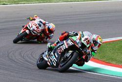 Alex de Angelis, Pedercini Racing, Lorenzo Savadori, Milwaukee Aprilia World Superbike Team